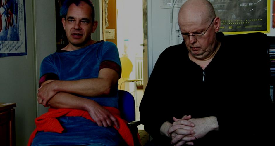 Detlef Georgia und Achim Schill