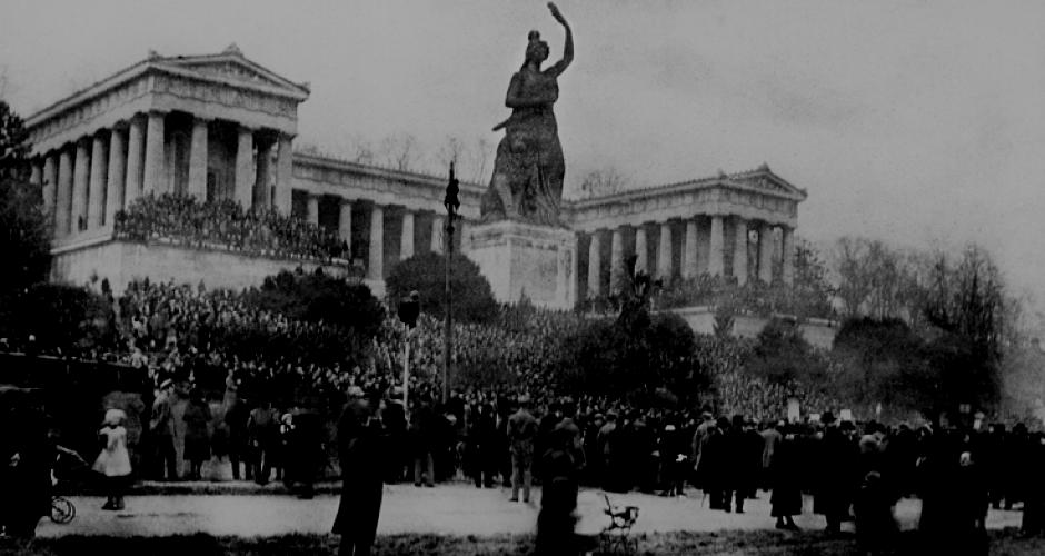 Theresienwiese 1918