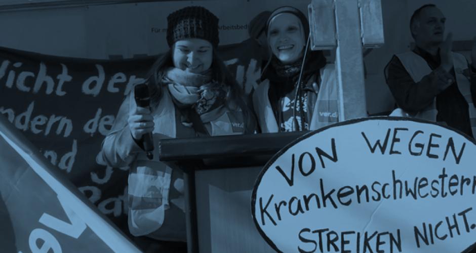 Streik in Hamburg 2017