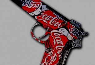 Coca Cola Pistole