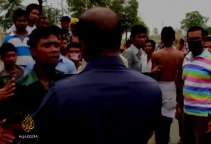 Auseinandersetzung zwischen streikenden Textilarbeitern und Polizei in Bagladesh