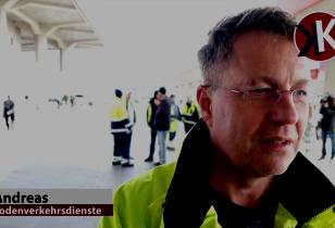 Beschäftugter der Bodenverkehrsdienste Berlin Tegel über den Streik, März 2017