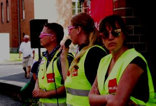 Warnstreik Charité August 2017