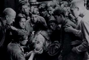 Streikender Arbeiter erschossen: Eisenstein Streik