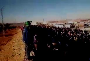 Ölarbeiterprotest in Algerien